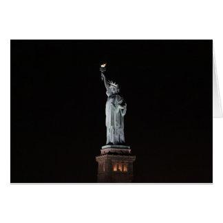 Cartão Estátua da liberdade