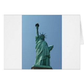 Cartão Estátua da liberdade 11