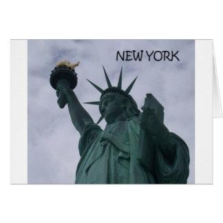 Cartão Estátua da liberdade da Nova Iorque (St.K)