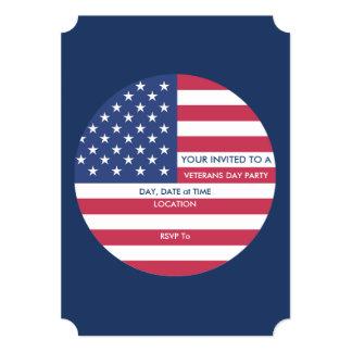 Cartão Este é partido do dia de veteranos de América