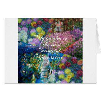 Cartão Este jardim é uma obra-prima