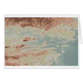 Cartão Estilo do clássico do vale de Arkansas River