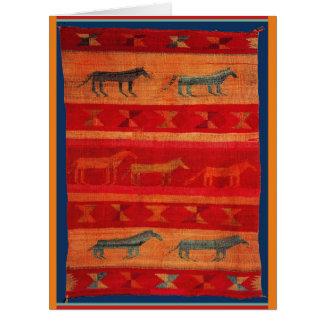 Cartão Estilo do nativo americano