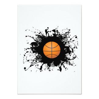 Cartão Estilo urbano do basquetebol