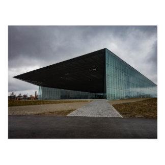 Cartão estónio de Tartu do Museu Nacional