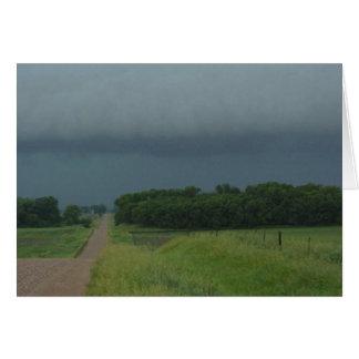 Cartão Estrada tormentoso