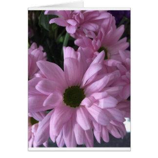 Cartão Estrados cor-de-rosa