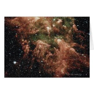 Cartão Estrela da nebulosa de Carina