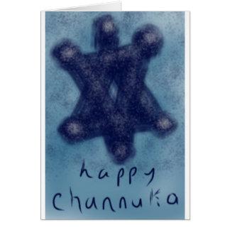 Cartão Estrela de Channukah