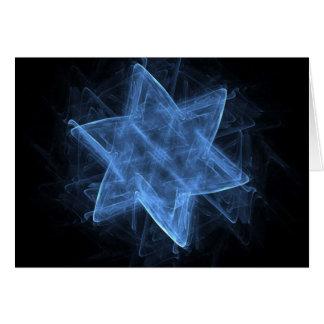 Cartão Estrela de David