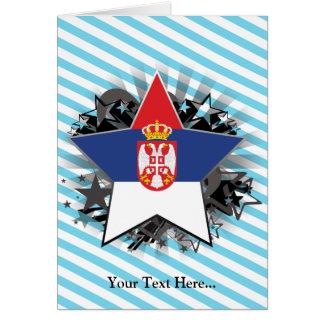 Cartão Estrela de Serbia