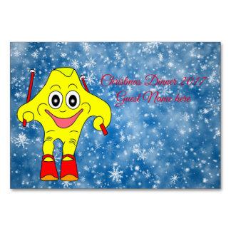 Cartão Estrela do esqui