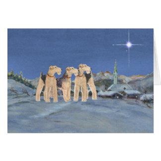 Cartão Estrela do Natal
