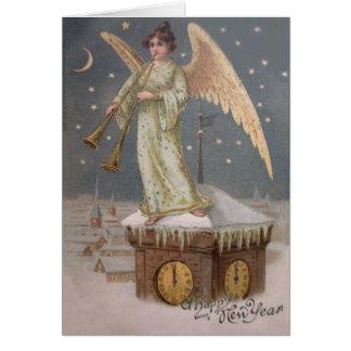 Cartão Estrelas da lua da torre de pulso de disparo do