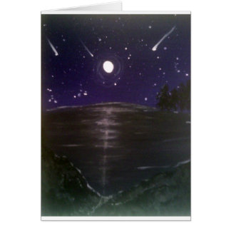 Cartão Estrelas de tiro