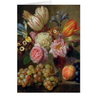 Cartão Estudo da flor