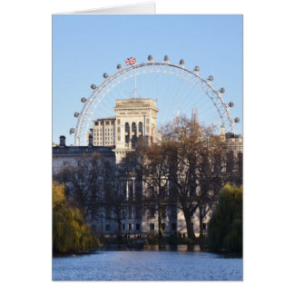 Cartão Eu amo Londres!