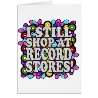 Cartão Eu compro em lojas gravadas