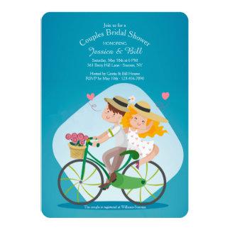 Cartão Eu e você acoplam o chá de panela