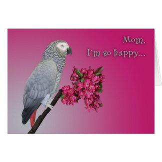Cartão Eu estou tão feliz
