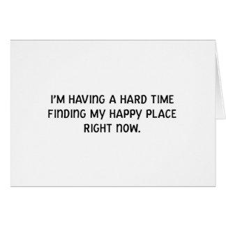 Cartão Eu estou tendo uma dificuldade que encontro meu