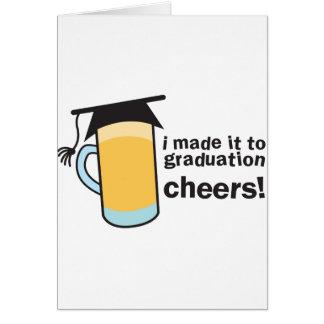 Cartão Eu fi-lo aos ELOGIOS da graduação!