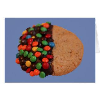 Cartão Eu penso que você é biscoito mergulhado do