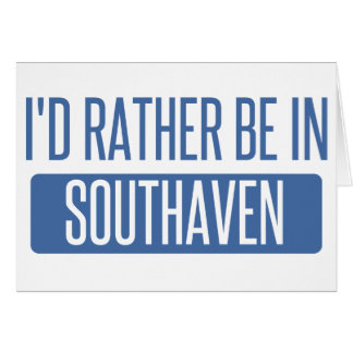 Cartão Eu preferencialmente estaria em Southaven