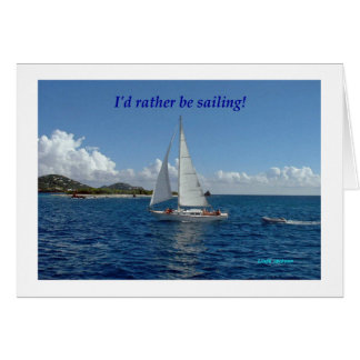 Cartão Eu preferencialmente estaria navegando!