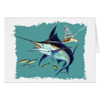 Cartão Eu preferencialmente estaria pescando!