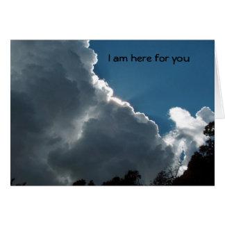 Cartão Eu sou aqui para você
