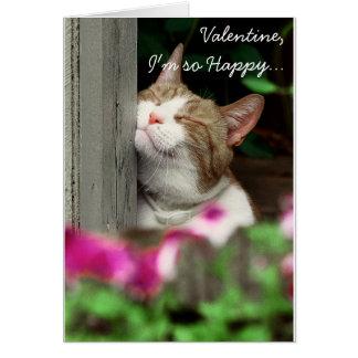 Cartão Eu sou namorados tão felizes