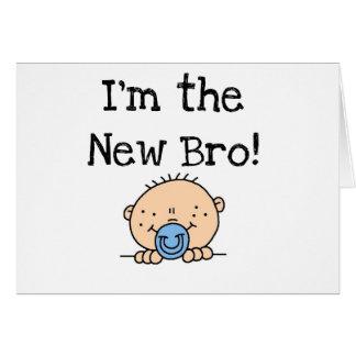 Cartão Eu sou o Bro novo