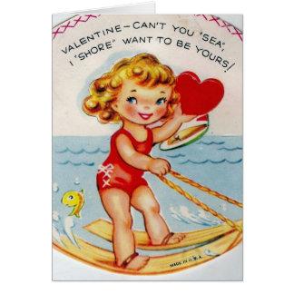 Cartão Eu suporto quero ser seu