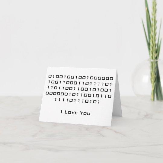 o que é código binário para eu te amo o que é um robô binário