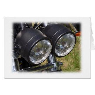 Cartão Eu tenho o 4U de II - motocicleta de Walley
