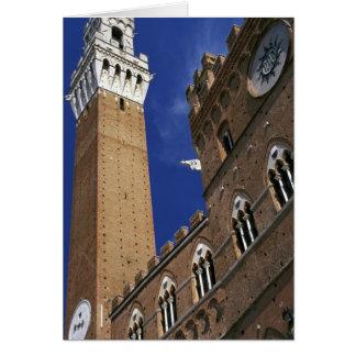 Cartão Europa, Italia, Toscânia, Siena. Del de Torre