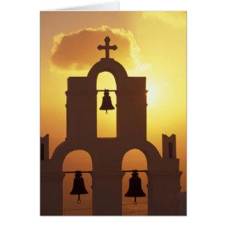 Cartão Europa, piscina, ilhas de Cyclades, Santorini,