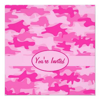 Cartão Evento cor-de-rosa e fúcsia do partido da