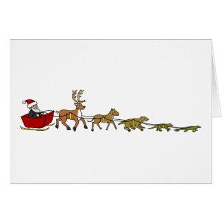 Cartão Evolução do Natal