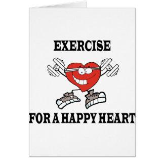 Cartão exercício heart2