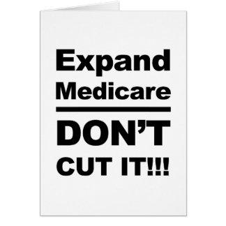 Cartão Expanda Medicare-Don't cortam-no