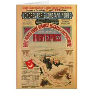 Cartão Expresso de oriente