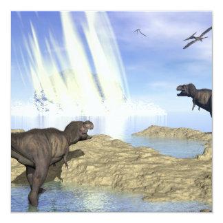 Cartão Extremidade dos dinossauros