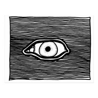 Cartão 'Eye Omniscient de ParanormalPrints