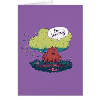 Cartão Faça como uma árvore