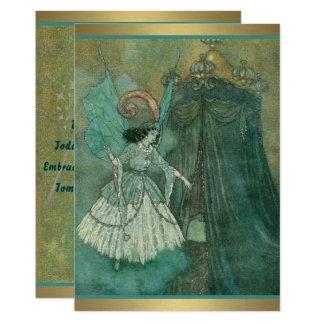 Cartão Fada azul