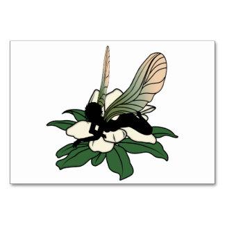 Cartão Fada da sombra da magnólia