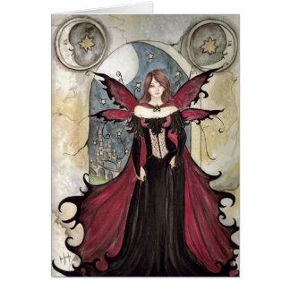 Cartão Fada do vampiro