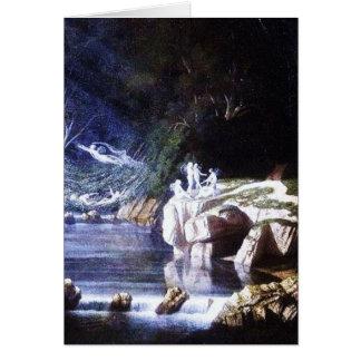 Cartão Fadas por Francis Danby